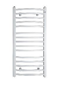 INSTAL PROJEKT - Grzejnik łazienkowy AMBRA R 55/100 kolor biały C35