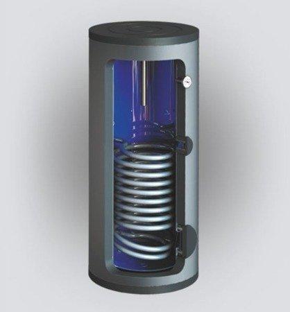 Wymiennik c.w.u. SBZ-500.TERMO-SOLAR, 500 litrów, z dwoma wężownicami i podłączeniem do zewnętrznego wymiennika ciepła